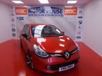 Renault Clio (DYNAMIQUE S MEDIANAV ENERGY TCE) FREE MOT'S AS LONG AS YOU OWN THE CAR!!! (red) 2013