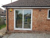Free sliding patio doors double glazed. Still locks