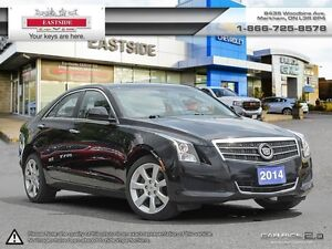 2014 Cadillac ATS AWD!! HEATED SEATS!! ROOF