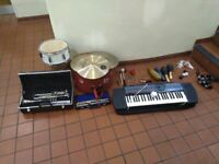 Zildjian symbols, drum, and other percussion instruments central London bargain