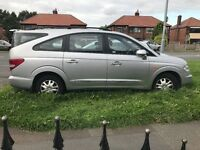 Ssangyong rodius spares/ repairs 4 good Michelin tyres