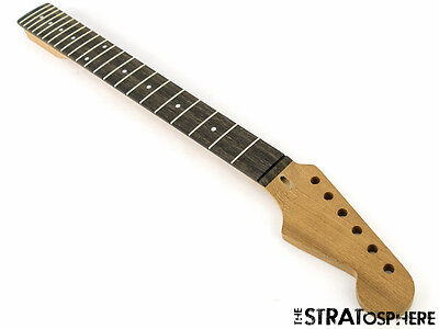 New Fender Lic Wd Stratocaster Strat Replacement Neck Mahogany   Ebony Modern 22