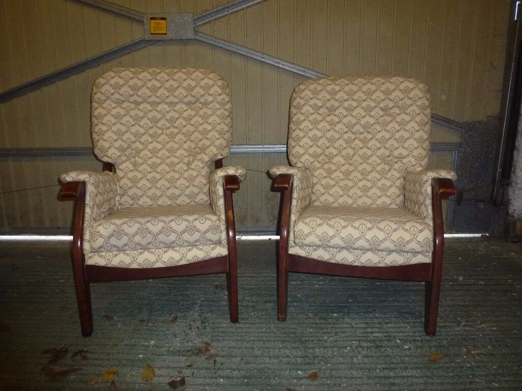 Free for Collection - Pair of Armchairs in good condition.