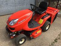 Kubota GR1600-II Diesel lawn mower ride on