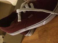 Soulcal & Co Burgundy trainers