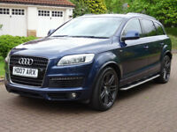 2007 07 AUDI Q7 4.2 TDI QUATTRO S LINE 5d AUTO 326 BHP **PART EX WELCOME*FINANCE AVAILABLE*WARRANTY