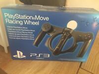 PlayStation move racing wheel new in box