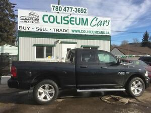 2015 Dodge Ram 1500 ST, 4X4, LEATHER, 33KM