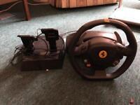 Thrustmaster Ferrari 458 Italia Racing Wheel and Pedal