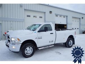2014 Ram 3500 SLT Regular Cab 4x4 - 37,100 KMs, 6.7L Diesel Fuel