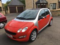 2006 Smart Forfour 1.1 Coolstyle 67,000 miles