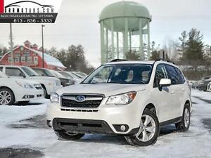 2014 Subaru Forester Manual Touring pkg