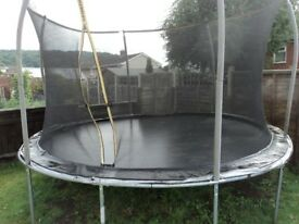 Trampoline for sale, in very good condition