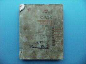 Automemorabilia. Rover P4 manual.