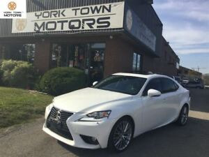 2014 Lexus IS 250 BACK-UP CAM | AWD | BSM | NAV| NO ACCIDENT