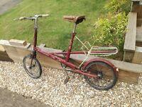 Moulton deluxe bike