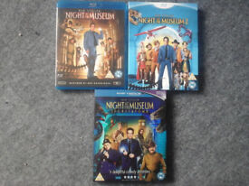 Night at the Museum Blu Ray Collection