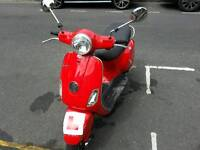 piaggio vespa LX moped motorcycle scooter only 999 no offers