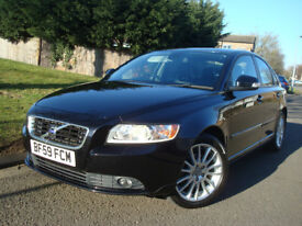 Volvo S40 1.6 D DRIVE SE LUX EDITION,DIESEL,4 dr,127.980 Miles 2 Former Keepers Full Service History