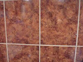 Kitchen or bathroom tiles 5 square metres still boxed