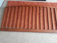 Sleigh cotbed includes drawer and mattress