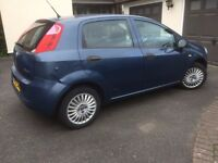 Fiat Punto Grande 1.2. MOT to March 2018