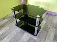 Glass TV Stand - Can Deliver For £19