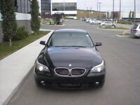 BMW 5 series luxury sedan