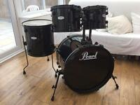 Pearl Forum 'Black' Fusion Shell Pack