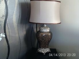 VERY NICE LAMP ( PRISE REDUCED TO £30 )