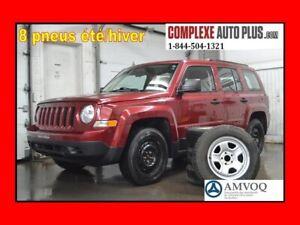 2016 Jeep Patriot Sport *A/C,Cruise,8 pneus/8 roues été/hiver