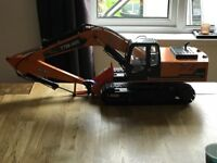 rc hydraulic excavator digger rc4wd 1/12 1/14 construction