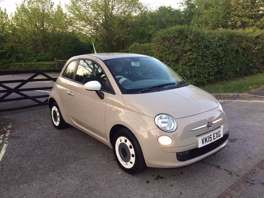 2015 fiat 500 colour therapy beige stop start 18 000 miles immaculate condition in esher. Black Bedroom Furniture Sets. Home Design Ideas