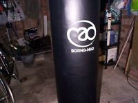 Punchbag (FREESTANDING) in great condition as rarely used (not cheap inflateable one)