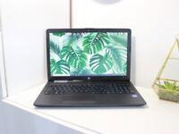 Like new HP Laptop Full HD, 8GB RAM, SSD, Office, Win10