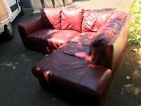 Nice compact corner sofa