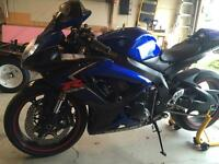 2007 Suzuki gsxr 600 Mint condition
