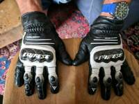 Dainese leather summer gloves
