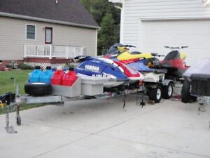 WANT TO BUY Double Triple or Four Place PWC Trailer!