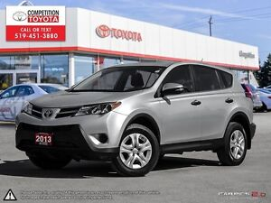 2013 Toyota RAV4 LE One Owner, No Accidents, Toyota Serviced