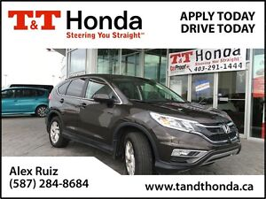 2015 Honda CR-V EX-L *Local Trade, No Accidents, Leather*