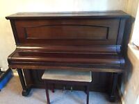Upright Piano For Sale (Bell London).