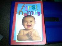 FOR SALE VGC BABY NAME BOOK MUST BE GONE ASAP PICK UP ONLY