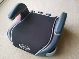 Graco child's booster seat.