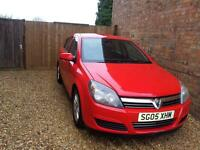 2005 Vauxhall Astra Club 1.7 Manual, Red, Diesel, 5 Door Hatchback
