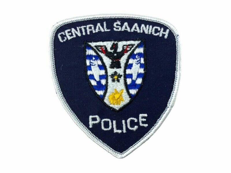Canadian Central Saanich British Columbia Police Patch 2