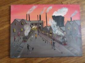 Signed Original Oil Painting