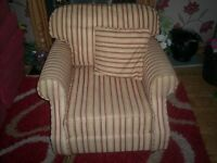 Classic look occasional chair
