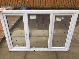 2x brand new upvc windows, never been used