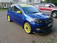 Ford fiesta St mk6 blue and yellow